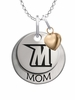 Morgan State Bears MOM Necklace with Heart Charm