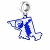 Morgan State Brears Logo Dangle Charm