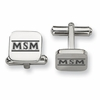 Mount St. Mary's Mountaineers Stainless Steel Cufflinks