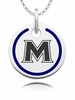 Mount St. Mary Mountaineers Round Enamel Charm