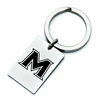Mount St. Mary's Mountaineers Stainless Steel Key Ring