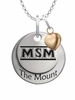 Mount St. Marys Mountaineers with Heart Accent