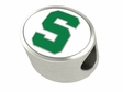 Michigan State Spartans Premium Enamel Bead
