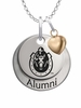 Murray State Racers Alumni Necklace with Heart Accent