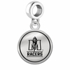 Murray State Racers Border Round Dangle Charm