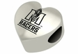 Murray State Racers Heart Shape Bead