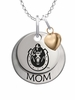Murray State Racers MOM Necklace with Heart Charm