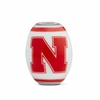 Nebraska Cornhuskers Glass Bead