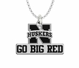Nebraska Huskers Spirit Mark Charm