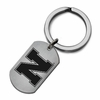 Nebraska Huskers Stainless Steel Key Ring
