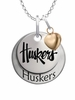 Nebraska Huskers with Heart Accent