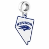 Nevada Wolf Pack Logo Dangle Charm