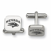 Nevada Wolf Pack Stainless Steel Cufflinks
