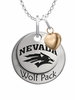 Nevada Wolf Pack with Heart Accent