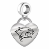 New Hampshire Engraved Heart Dangle Charm