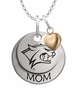 New Hampshire Wildcats MOM Necklace with Heart Charm