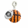 New Mexico Lobos Crystal Drop Charm