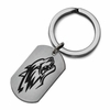 New Mexico Lobos Stainless Steel Key Ring