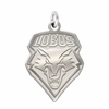 New Mexico Lobos Natural Finish Charm