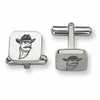 New Mexico State Aggies Stainless Steel Cufflinks