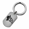 New Mexico State Aggies Stainless Steel Key Ring