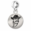 New Mexico State Round Dangle Charm
