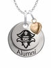 New Orleans Privateers Alumni Necklace with Heart Accent