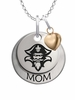 New Orleans Privateers MOM Necklace with Heart Charm