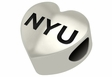 New York Violets Heart Shape Bead