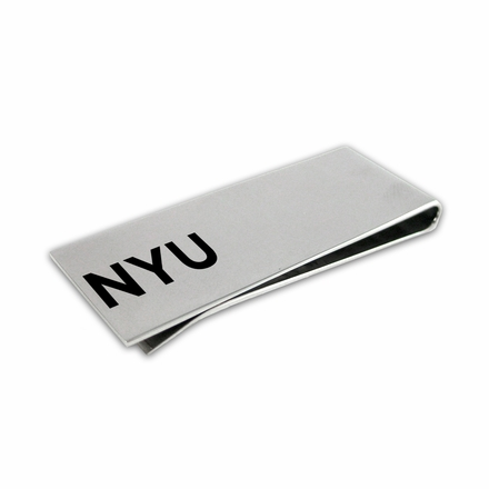 New York Violets Money Clip