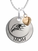 Niagara Purple Eagles MOM Necklace with Heart Charm