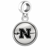 Nicholls State Colonels Border Round Dangle Charm