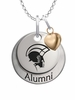 Norfolk State Spartans Alumni Necklace with Heart Accent
