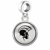 Norfolk State Spartans Border Round Dangle Charm