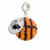 Norfolk State Spartans Crystal Drop Charm