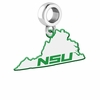 Norfolk State Spartans Logo Dangle Charm