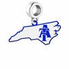 North Carolina A&T Aggies Logo Dangle Charm