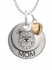 North Carolina A&T Aggies MOM Necklace with Heart Charm