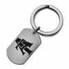 North Carolina A&T Aggies Stainless Steel Key Ring