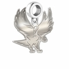 North Carolina Central Eagles Dangle Charm