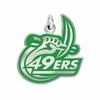 North Carolina Charlotte 49ers Logo Charm