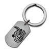 North Carolina Charlotte 49ers Stainless Steel Key Ring