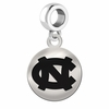 North Carolina Round Dangle Charm