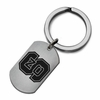 North Carolina State Wolfpack Stainless Steel Key Ring