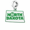 North Dakota Athletics Logo Dangle Charm
