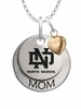 North Dakota Athletics MOM Necklace with Heart Charm