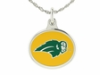 North Dakota State Bison Enamel Charm