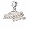 North Dakota State Bison Dangle Charm