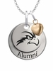 North Florida Ospreys Alumni Necklace with Heart Accent