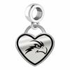 North Florida Ospreys Border Heart Dangle Charm
